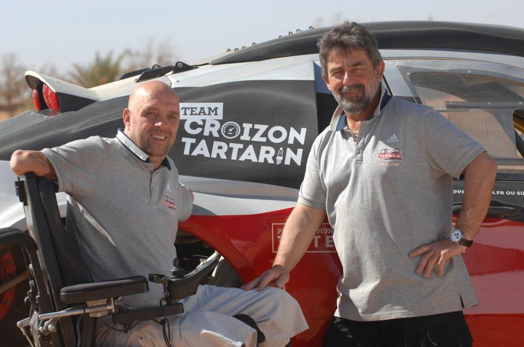 Philippe Croizon participera au Dakar 2017 avec Yves Tartarin