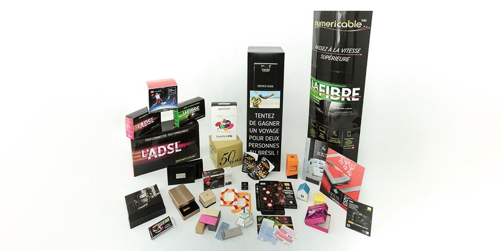 Une gamme complète de PLV avec SharePrint - Imprimerie Offset, numérique, grand format, UV