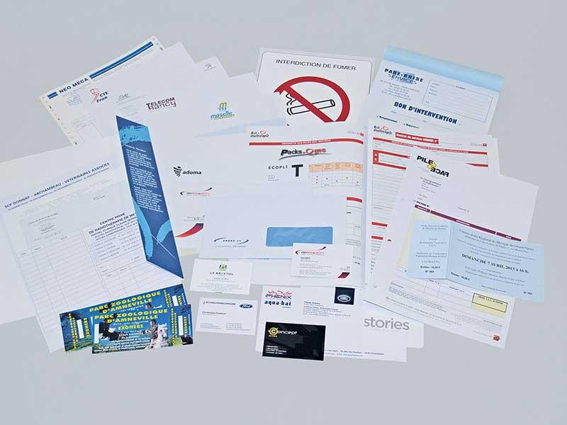 Vos imprimés de Fonctionnement avec SharePrint - Imprimerie Offset, numérique, grand format, UV