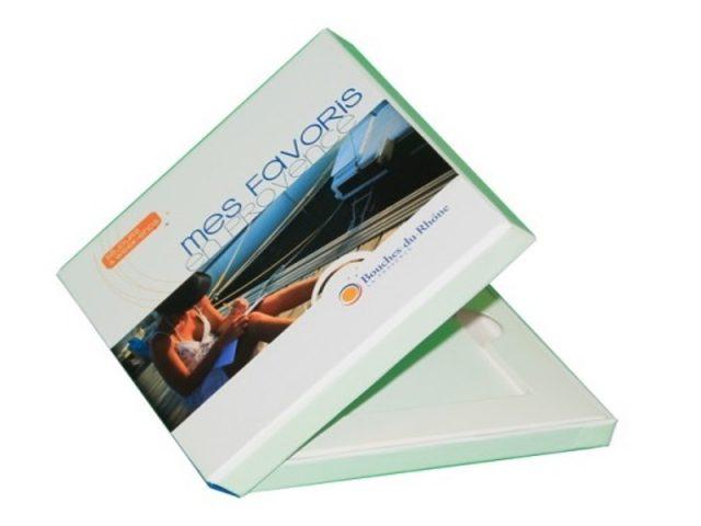 Votre boite monocuvette réalisée sur PolyPro est 100% recyclable et pourra être réalisée à quelques dizaine d'exemplaires ou en tirage industriel