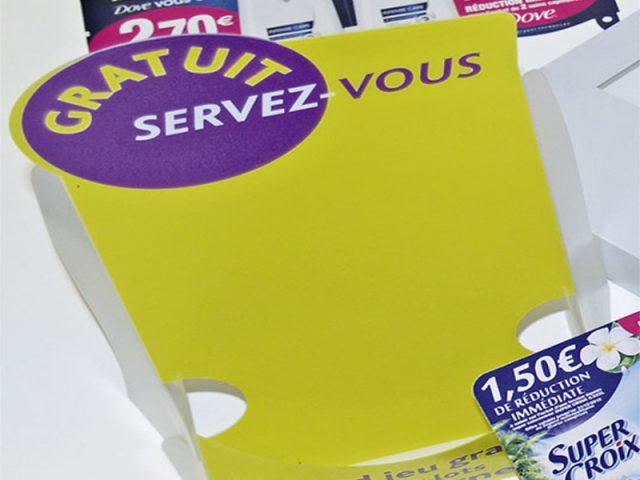 Impression publicitaire & PLV: Distributeur - présentoir