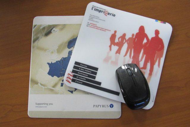 Imprimés administratifs: tapis de souris personnalisé - Polypro 3mm
