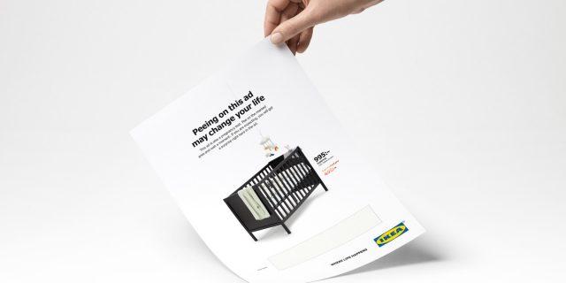Blog SharePrint - Ikea nous offre une pub Print interactive assez particulière !