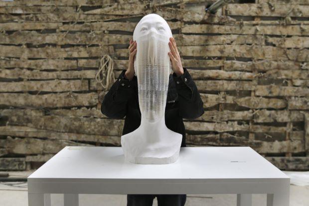 Sculptures en papier Li Hongbo