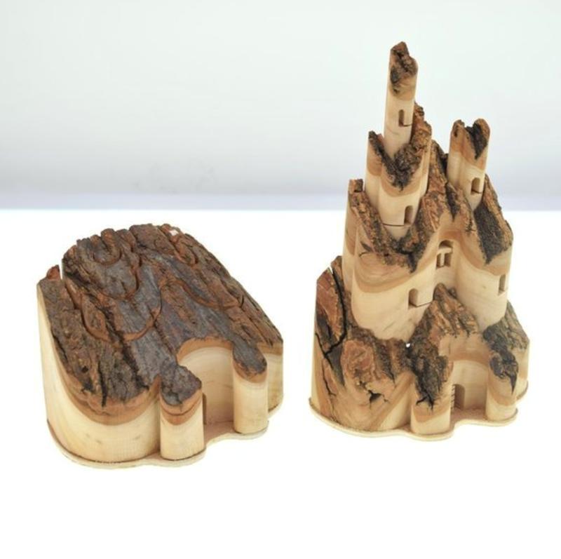 sculptures bois miniatures