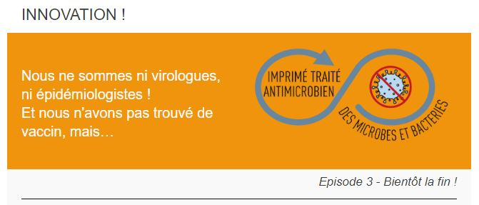 vernis protège bactéries microbes virus